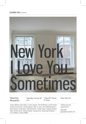JANELLE: NEW YORK I LOVE YOU SOMETIMES